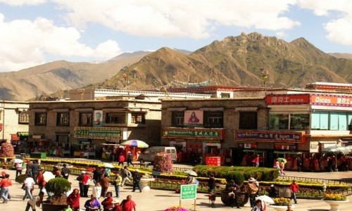 TYBET / Lhasa / Lhasa / Barkhor