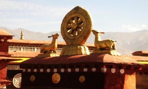 Zdjecie TYBET / Lhasa / Lhasa / świątynia Jokhang