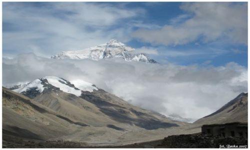 Zdjecie TYBET / Himalaje / Everest Base Camp / Góra gór