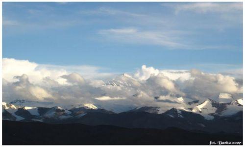 Zdjecie TYBET / Himalaje / punkt widokowy  / Przed zachodem słońca