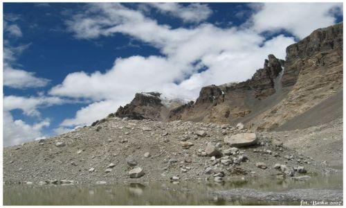 Zdjecie TYBET / Himalaje / Base camp / Chmury, góry...