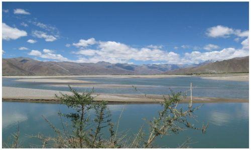 Zdjęcie TYBET / Tybet południowy / jw / Rozlewiska Yarlung