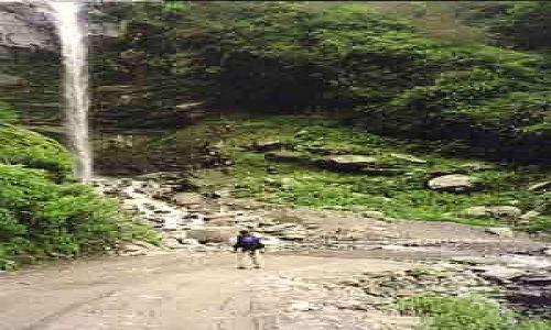 Zdjecie TYBET / brak / brak / Wodospad w Tybecie