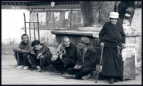 Zdjecie TYBET / brak / Lhasa / rozmowy