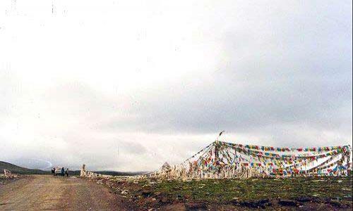 TYBET / Tybet Południowy / Przełęcz Pong-La / Przełęcz Pong-La