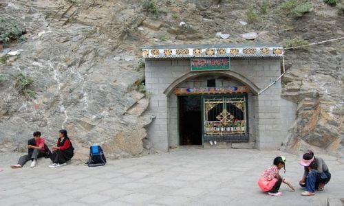 Zdjecie TYBET / Tybet / Herbaciarnia w Lhasie / Konkurs