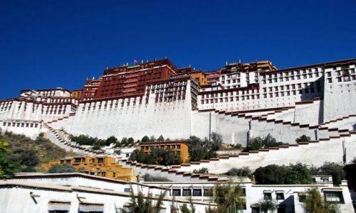 Zdjecie TYBET / - / Lhasa / Potala - cud wschodniej architektury.