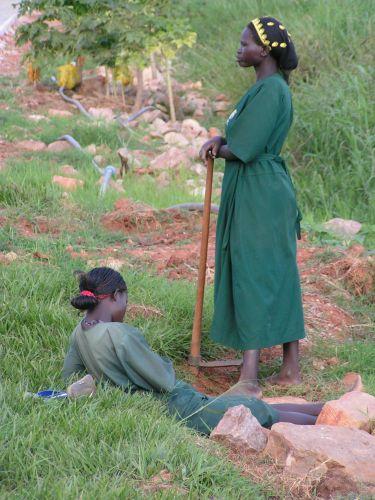 Zdjęcia: Kampala, przerwa w pracy, UGANDA