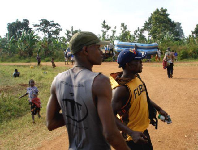 Zdjęcia: Nil - rafting, Kampala, Juz po... ciągle żywi?, UGANDA
