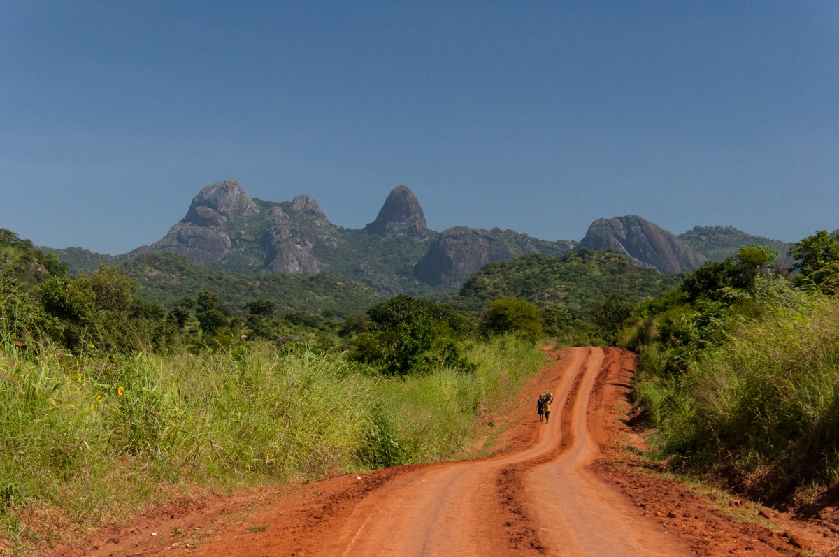 Zdjęcia: ., Kaabong, W stronę Kidepo National Park, UGANDA