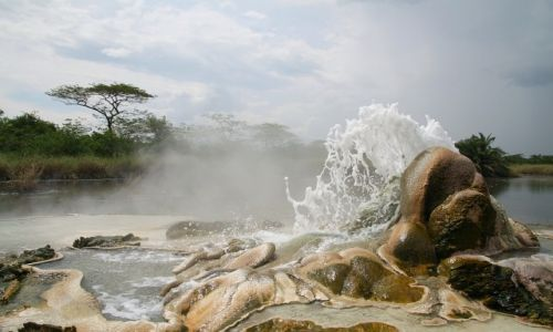 Zdjecie UGANDA / Semliki / Semliki / Sempaya Hot Springs