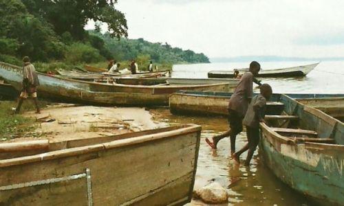 Zdjęcie UGANDA / Wyspy Sese / Kalangala / Rybacy