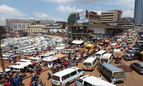 Zdjęcie UGANDA / - / Kampala / Kampala - New Taxi Terminal