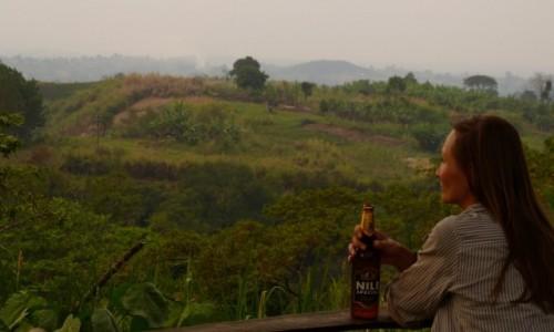Zdjecie UGANDA / Wschodnia uganda / Crater Lakes Niedaleko Fort Portal / Zasluzone... ( po calym dniu na rowerze)