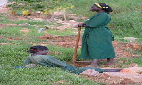 Zdjecie UGANDA / brak / Kampala / przerwa w pracy