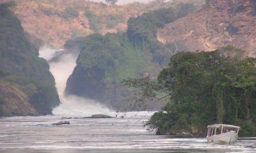 Zdjecie UGANDA / brak / Murchison Falls / łódeczka