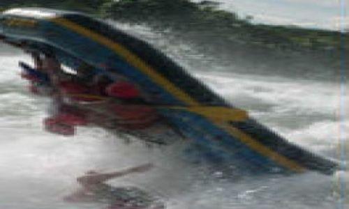 Zdjecie UGANDA / Kampala / Nil - rafting / Rafting. Tak by