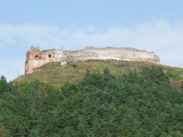 Zdjęcia: Krzemieniec, Ukraina, wzgórze Bony i zamek Krzemieniec, UKRAINA