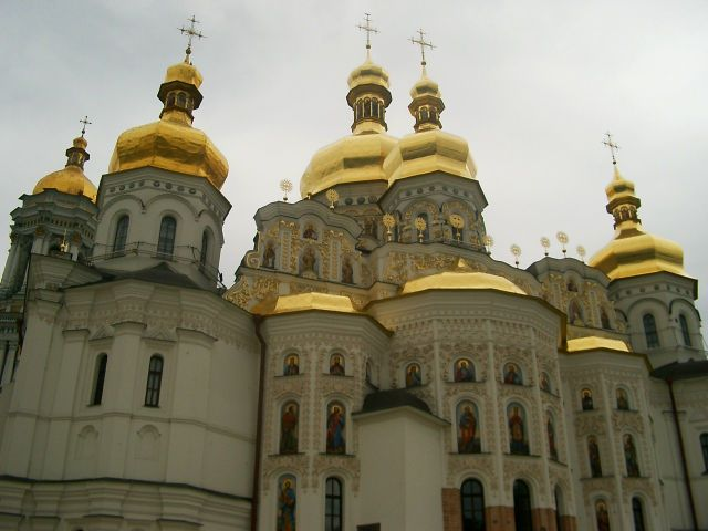 Zdj�cia: Kij�w, Pieczerska �awra jak nowa, UKRAINA