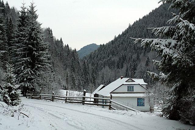 Zdjęcia: Bereżnica, Huculszczyzna, Domek, UKRAINA