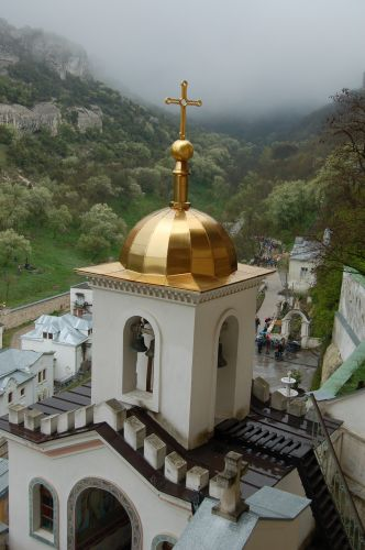 Zdj�cia: Bakczysaraj, Krym, Kapliczka , UKRAINA