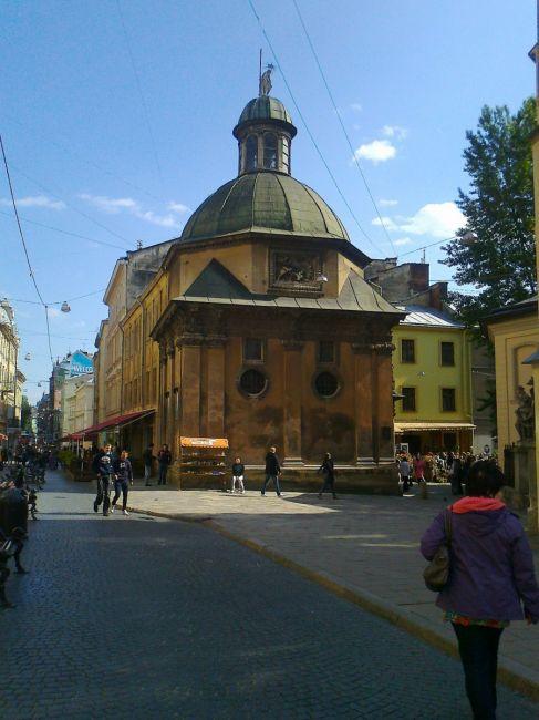 Zdjęcia: st.miasto, Lwów, Lwów , czerwiec 2012, UKRAINA