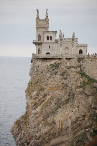 Zdj�cia: Okolice Ja�ty, Krym, Zamek Jask�cze Gniazdo, UKRAINA