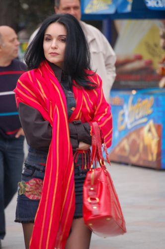 Zdjęcia: Jałta  , Krym, Lady na deptaku w Jałcie, UKRAINA