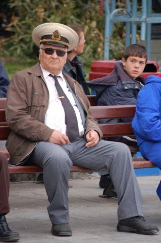 Zdjęcia: Jałta, Krym, Emerytowany Marynarz, UKRAINA