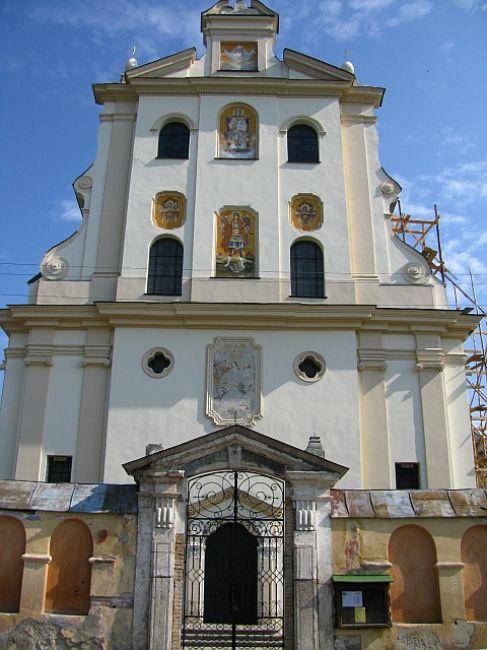 Zdjęcia: Żółkiew, Ukraina Zachodnia, klasztor Dominikanów, UKRAINA