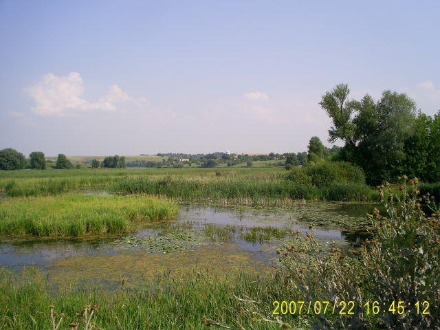 Zdj�cia: okolice wsi Me�yriv, podole, krajobraz, UKRAINA