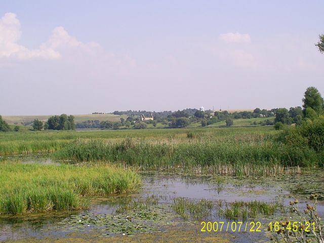 Zdjęcia: okolice wsi Meżyriv, podole, krajobraz, UKRAINA