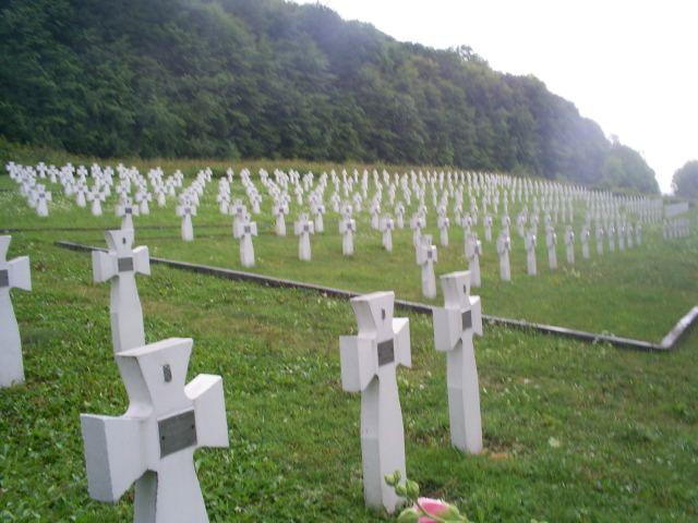 Zdjęcia: niedaleko Zarwanycy - 100km za Lwowem, Galicja, cmentarz żołnierzy dywizji Halyczyna, UKRAINA