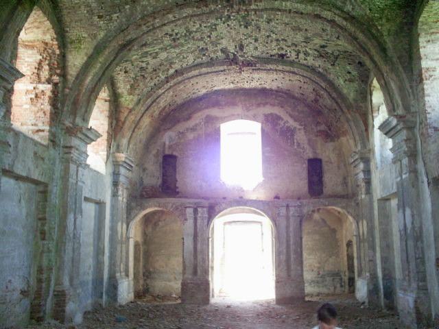 Zdjęcia: Meżyriv, podole, ruiny kościoła, UKRAINA