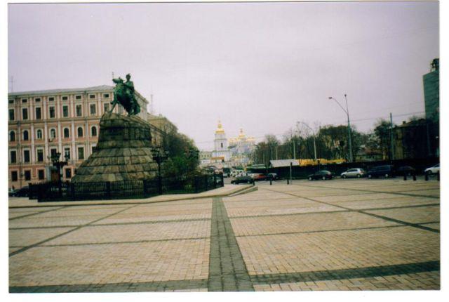 Zdjęcia: kijów, pomnik Chmielnickiego, UKRAINA