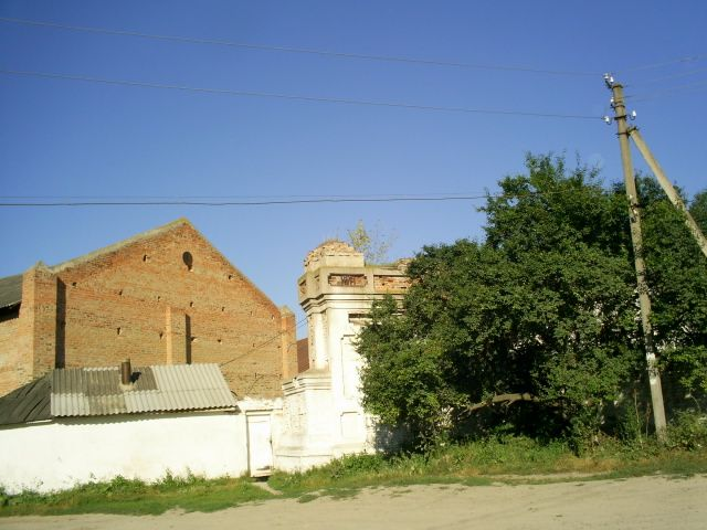 Zdjęcia: okolice msc.Braiłów, podole, fragment starej cukrowni , UKRAINA