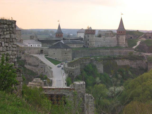 Zdj�cia: Kamieniec Podolski, zamek, UKRAINA