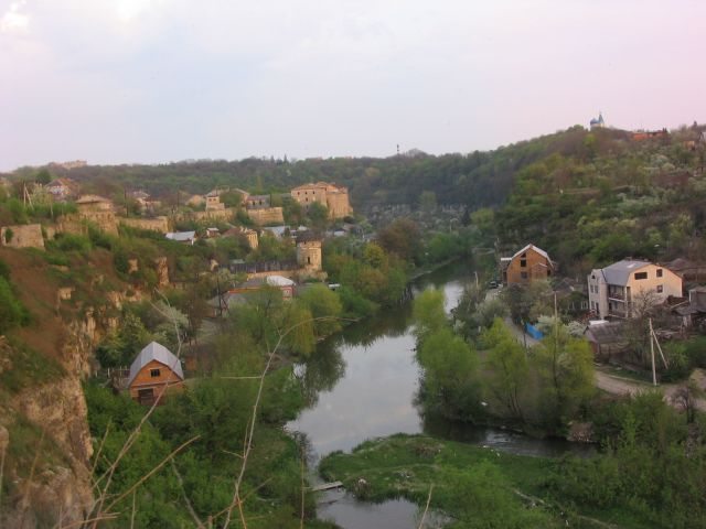 Zdjęcia: Kamieniec Podolski, Okolice zamku, UKRAINA