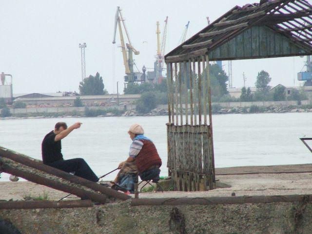 Zdjęcia: Odessa, Wędkarze, UKRAINA