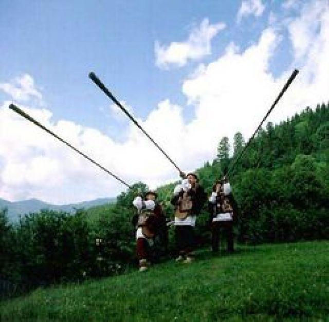 Zdjęcia: Karpaty zachodnie, trębacze, UKRAINA