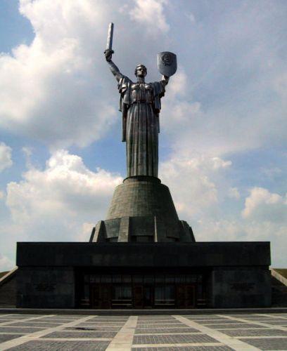 Zdjęcia: Kijów, Pomnik Matki Ojczyzny, UKRAINA