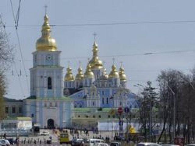 Zdj�cia: Kij�w, Cerkiew �w.Micha�a, UKRAINA