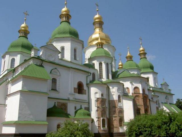 Zdjęcia: Kijów, Sobór św. Zofii, UKRAINA