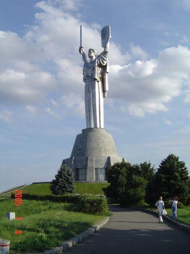 Zdjęcia: KIJÓW, PAMIATNIK MATUSZKI, UKRAINA