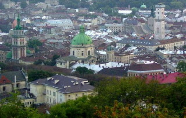 Zdjęcia: Lwów, panorama Lwowa, UKRAINA
