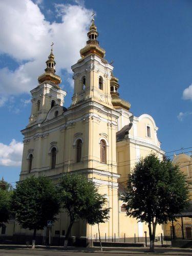 Zdjęcia: Vinnytsa, podole, kościół dominikanów, UKRAINA