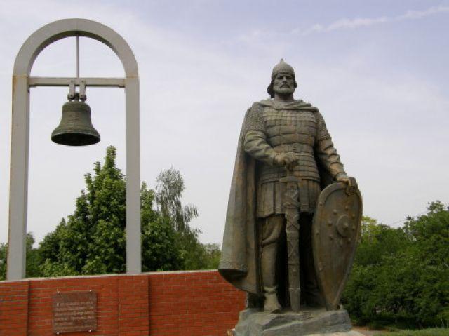 Zdjęcia: Pereslaw Hmelnycki, pomnik Włodzimierza Hlibowicza, UKRAINA