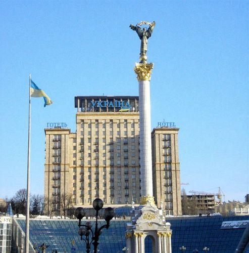 Zdjęcia: Kijów, monument niezależności, UKRAINA
