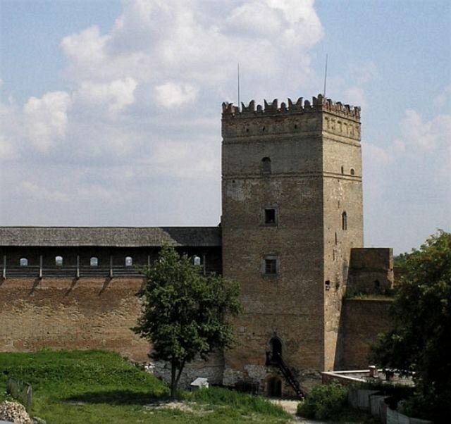 Zdjęcia: Łuck, wieża zamku, UKRAINA