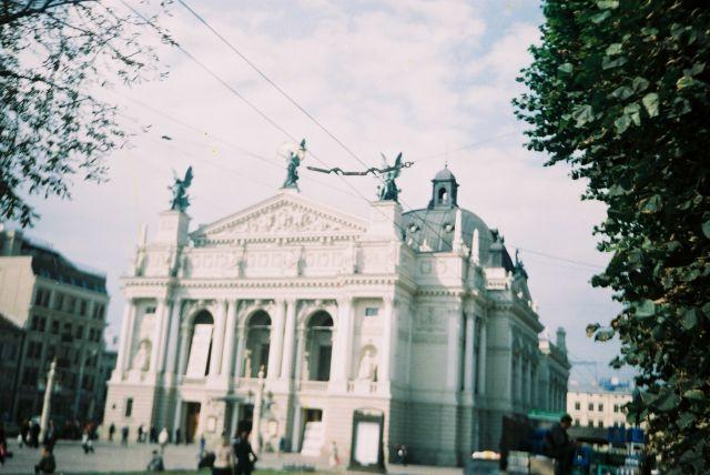 Zdjęcia: Vysvolesti place, Lviv in 2003 year, UKRAINA